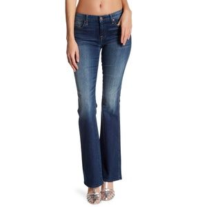 B2G1 7 For All Mankind Sequin A Pocket Flare Jeans